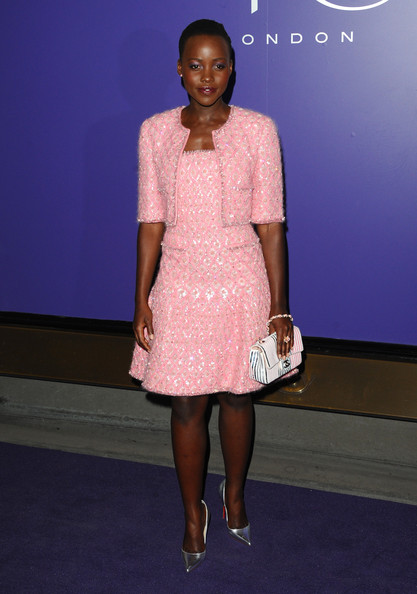 Lupita+Nyong+o EE British Academy Film Awards Nominees Party at Asprey London