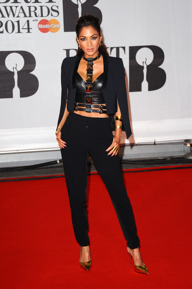 Nicole+Scherzinger+Arrivals+BRIT+Awards+Part+GymLH7A9etJl