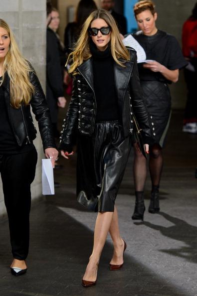 Preen By Thornton Bragazzi: Front Row - London Fashion Week AW14
