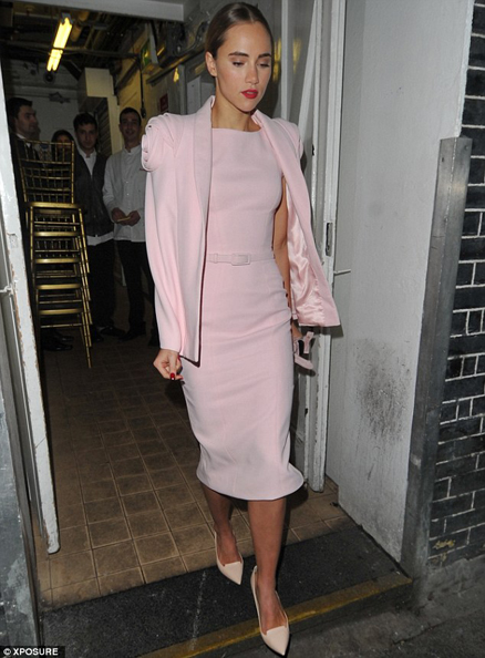 Suki Waterhouse pre bafta party