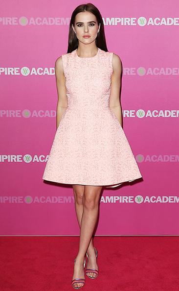 Zoey Deutch Vampire Academy Christian Dior