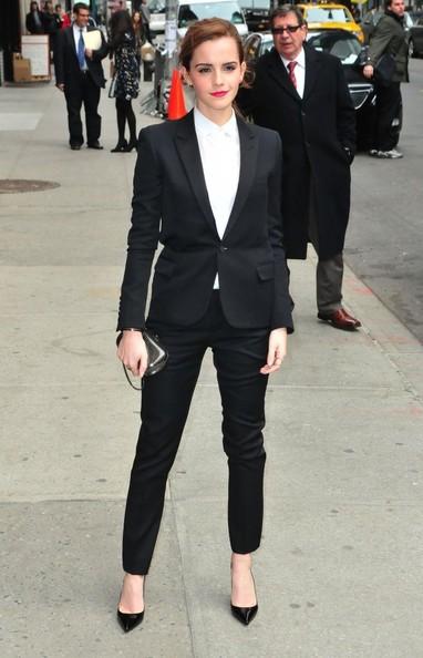 Emma Watson Late Show David Letterman 2