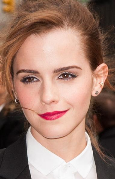 Emma Watson Late Show David Letterman make up