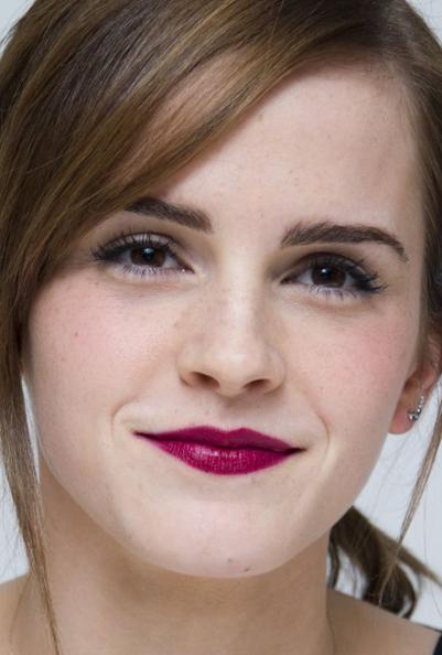 Emma Watson Noah Photocall makeup