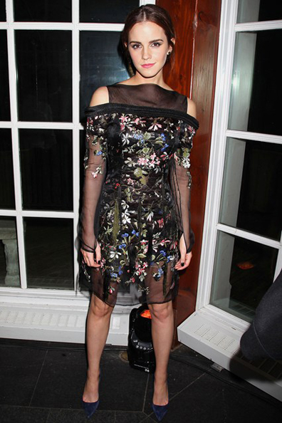 emma-watson- noe after party usando Erdem