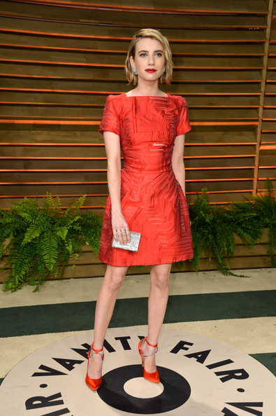 Emma+Roberts+Stars+Vanity+Fair+Oscar+Party Fendi
