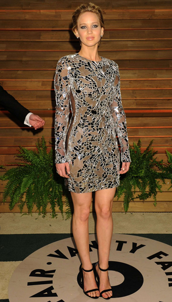 Jennifer-Lawrence-Oscar-2014-Vanity-Fair-Party Tom Ford