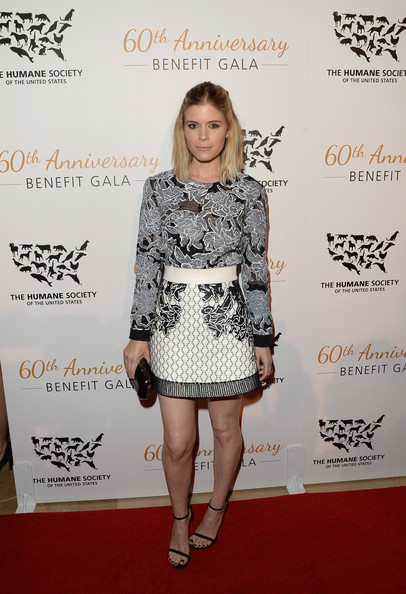 Kate+Mara Humane Society Of The United States 60th Anniversary Gala