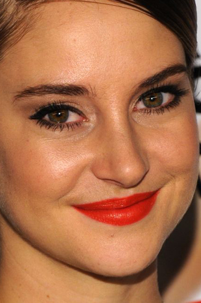 Shailene+Woodley makeup