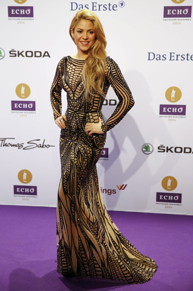 shakira-at-at-2014-echo-music-awards-in-berlin_ zuhair murad
