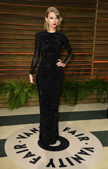 Taylor+Swift Vanity+Fair+Oscar+Party  Julien Macdonald