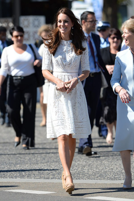kate-middleton-The Duke and Duchess of Cambridge visit the Sydney Royal Easter Show