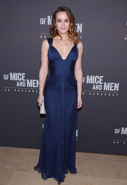 Leighton Meester at 'Of Mice And Men' Broadway Opening Night After Party in New York City