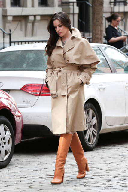 Celebrity Sightings In New York - April 14, 2014