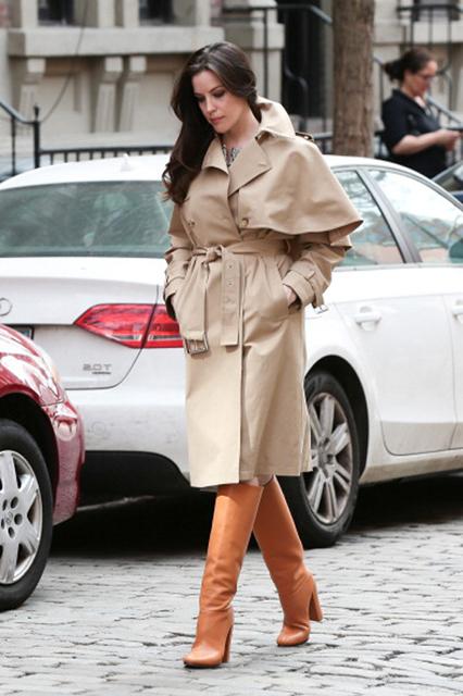 Celebrity Sightings In New York - April 14, 2014