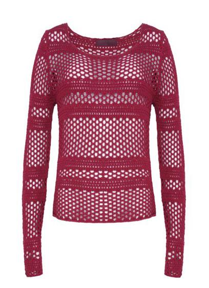 blusa vazada  R$89,90