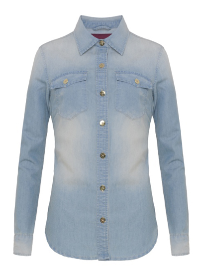 camisa jeans R$119,00
