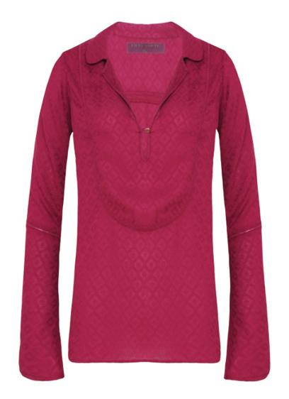 Camisa rosa R$89,90