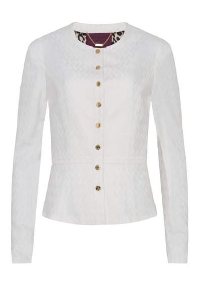 Casaco branco R$149,90