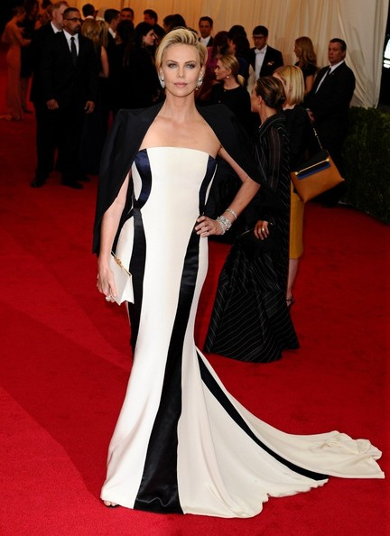 Charlize+Theron+ Christian Dior