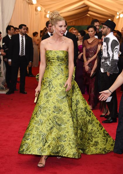 Ivanka+Trump+ Oscar de la Renta