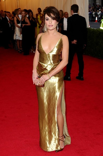 Lea+Michele+Red+Carpet+Arrivals+Met+Gala+Part+zN6vx7yFKpol