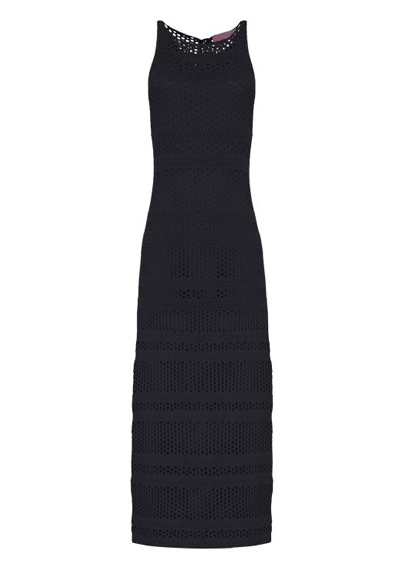vestido preto vazado R$249,00