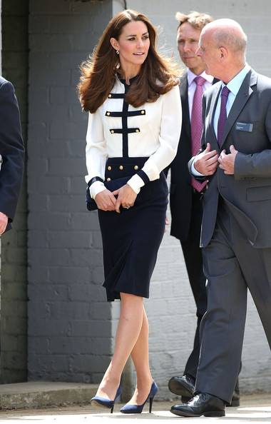 Kate+Middleton+Kate+Middleton+Visits Bletchley Park