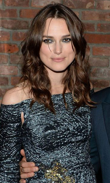 Keira Knightley Make up and hair