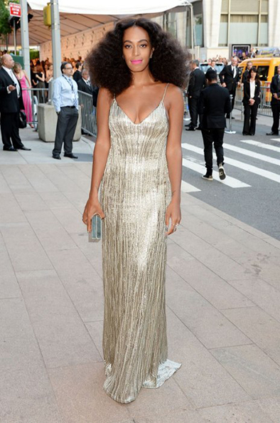 Solange Knowles Calvin Klein Collection