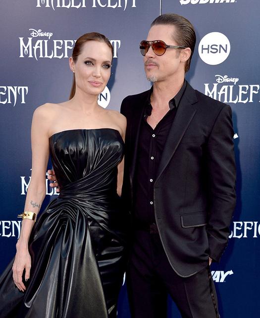 Angelina-Jolie-Brad-Pitt-Maleficent-LA-Premiere