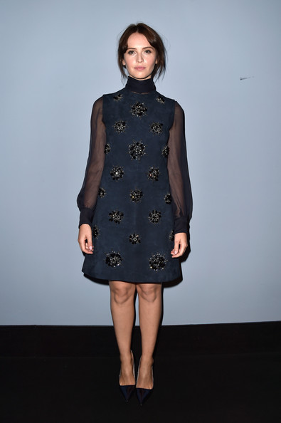 Felicity+Jones+'Miu Miu Women's Tales #7 - #8' Premieres in Venice