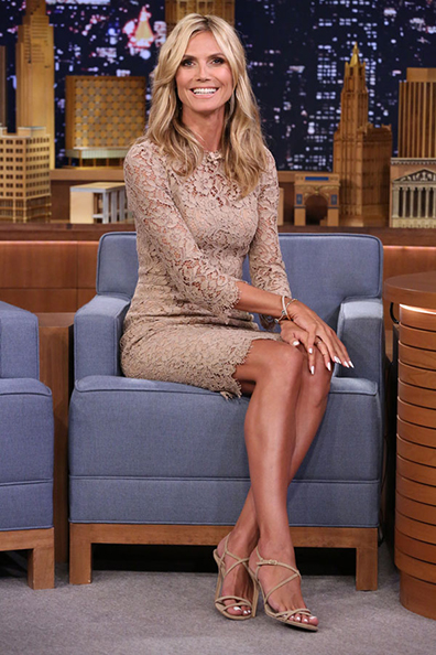 Heidi Klum the tonight show
