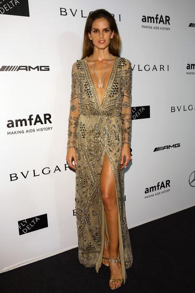 Izabel Goulart amfAR+Milano+2014+Arrivals+Milan+Fashion+Week+P-dR2xBgTFfl