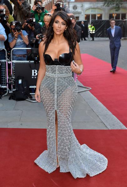 Kim+Kardashian+Ralph & Russo Couture