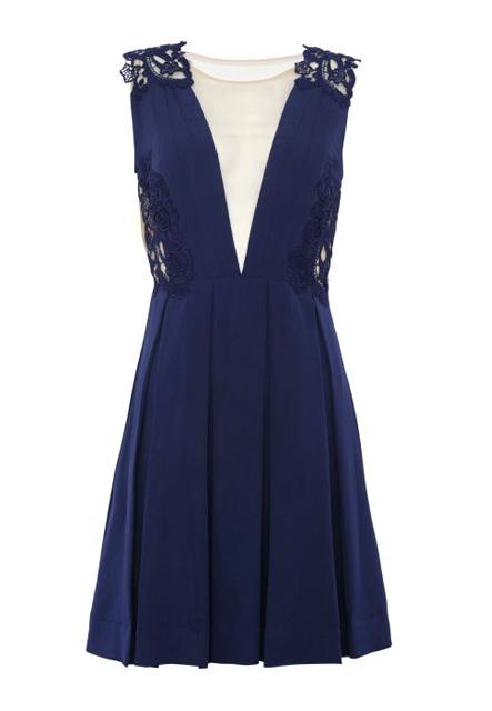 Vestido azul PatBo