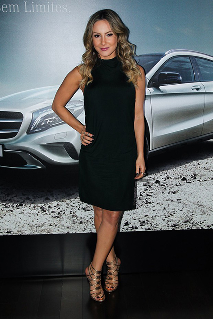 Claudia Leitte festa promovida pela Mercedes-Benz