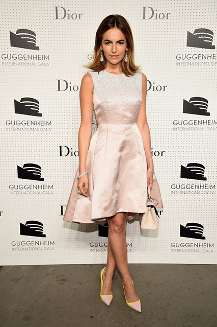 Camilla Belle Guggenheim International Gala Pre-Party Made Possible By Dior