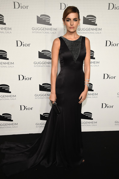Camilla+Belle+Guggenheim International Gala Dinner Made Possible By Dior