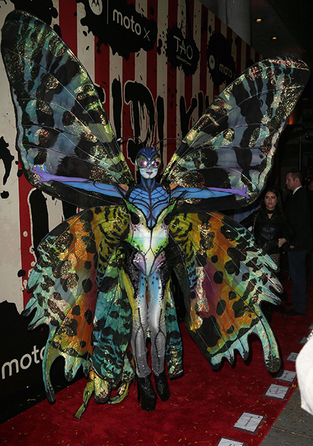 HEIDI KLUM at Her Halloween Party