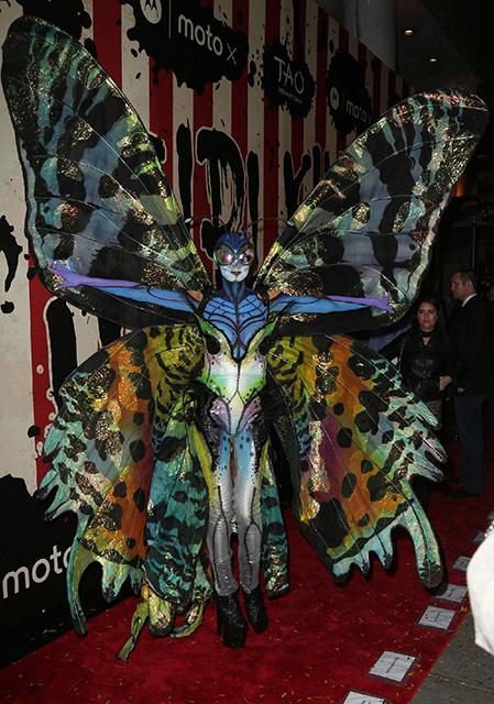 HEIDI KLUM at Her Halloween Party