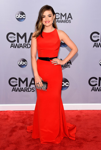 Lucy+Hale+Arrivals+48th+Annual+CMA+Awards+SWqjpl9Rn4ql