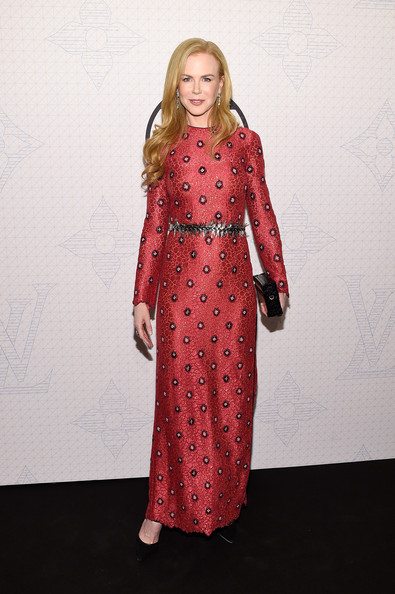 Nicole+Kidman+Louis+Vuitton+Monogram+Celebration+in New York
