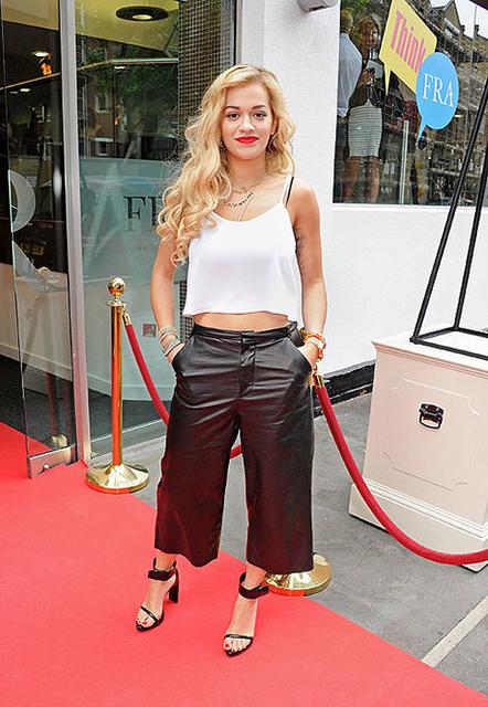 z famosas Rita Ora