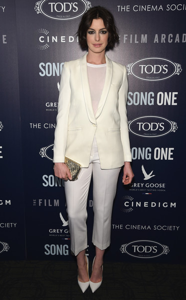 Anne+Hathaway+Song One Premiere NYC