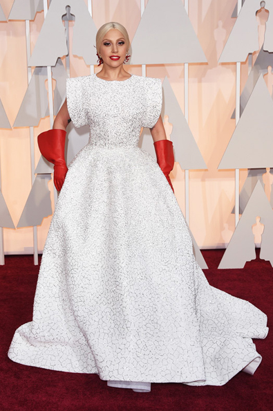 Lady Gaga Alaia