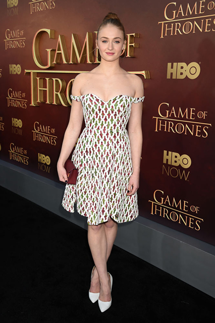 Sophie Turner Game of Thrones Season 5 premiere