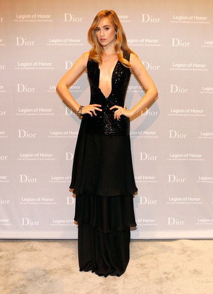 Suki+Waterhouse+ Mid-winter Gala Presented by Dior in San Francisco