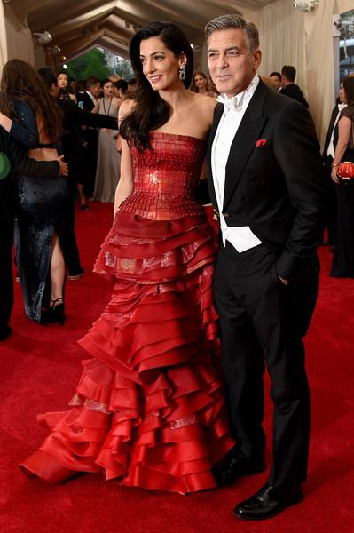 Amal+Clooney+ Maison Margiela