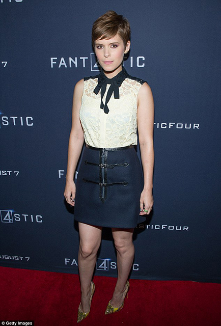 Kate Mara  Fantastic Four' Atlanta VIP  Atlanta, Georgia.